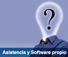 Asesoramiento gratuito y software propio