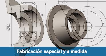 fabricación especial y a medida