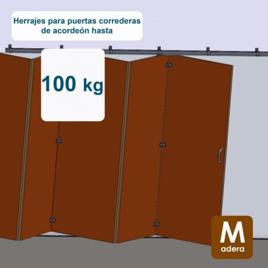 Herrajes puertas acorde n archivos estampaciones ebro for Puerta de acordeon castorama