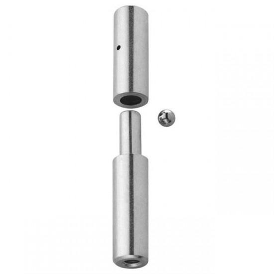 Herrajes para puertas pernio torneado regulable - Bisagras puertas metalicas ...