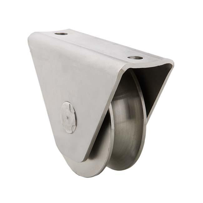 Herrajes para puertas polea canal 16 mm u con caja - Accesorios puertas correderas ...