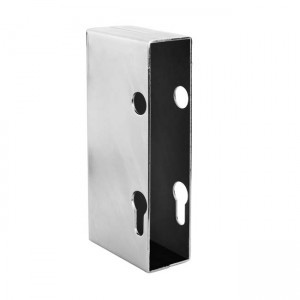 caja cerradura puerta corredera