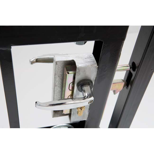 Herrajes para puertas cerradura gancho - Como hacer puertas correderas ...
