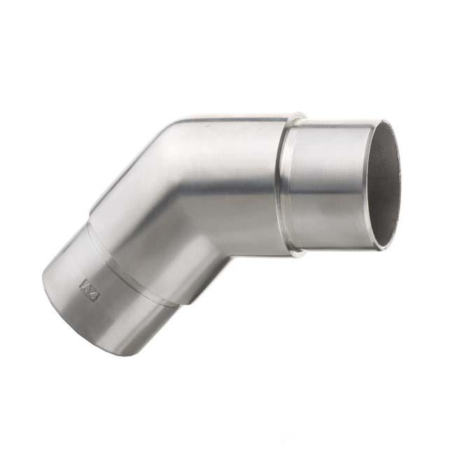 Codo angulo 135 para barandillas de acero inoxidable - Angulo de acero inoxidable ...