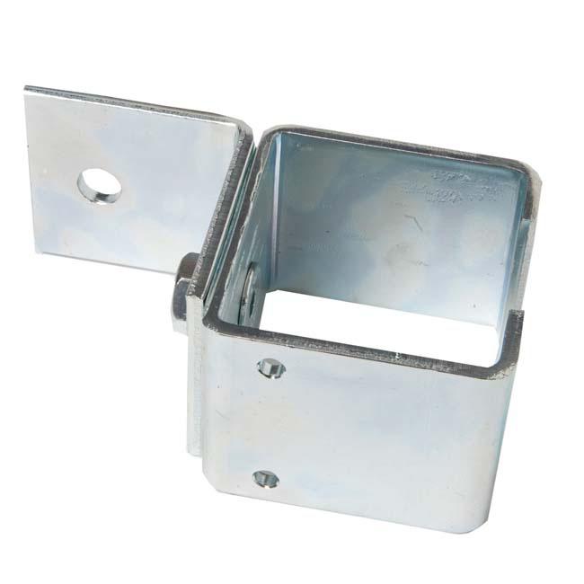 Herrajes para puertas abrazadera ra l u 40 pared con tornillo - Rieles puerta corredera ...