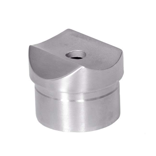 Soporte tubo para pasamanos acero inoxidable - Accesorios de acero inoxidable para barandillas ...