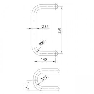 Dibujo técnico tirador modelo 15