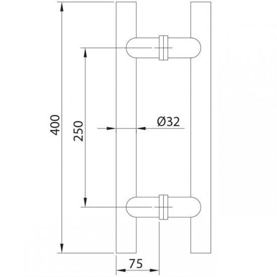 Dibujo técnico tirador modelo 5