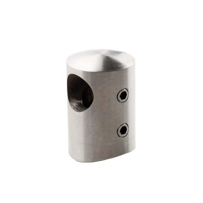 Conector ciego tubo para barandillas acero inoxidable - Accesorios de acero inoxidable para barandillas ...