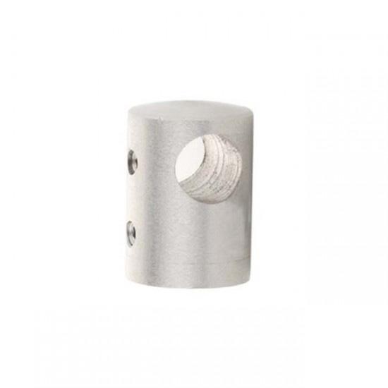 Conector tubo plano para barandillas acero inoxidable - Accesorios de acero inoxidable para barandillas ...