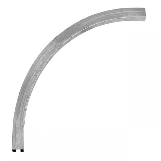 rieles para puertas correderas curva superior