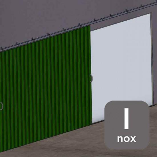 Herrajes puertas correderas colgadas INOXIDABLES