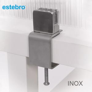 Soportes divisorias INOX